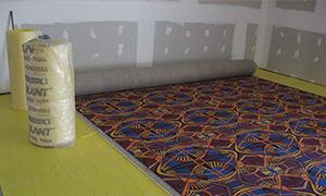 Colocación de Base para alfombras