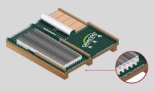 Colocación Covering y Ondusec Reflex en techos