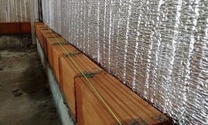 Colocación de Ondusec Reflex en Muro doble con cámara de aire