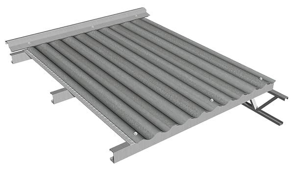 Se continúa con el ciclo hasta completar la totalidad de la cubierta. También se puede aislar tabiques y paredes con la membrana.