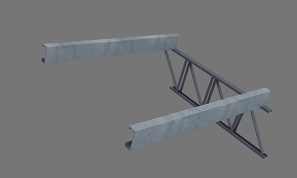 Sobre las correas estructurales colocar la Red 2x2 Isolant en el mismo sentido que la chapa.