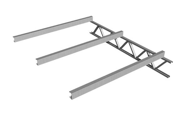 ALU FUSION NET con red incorporada, evita el uso de red o alambres para su montado.