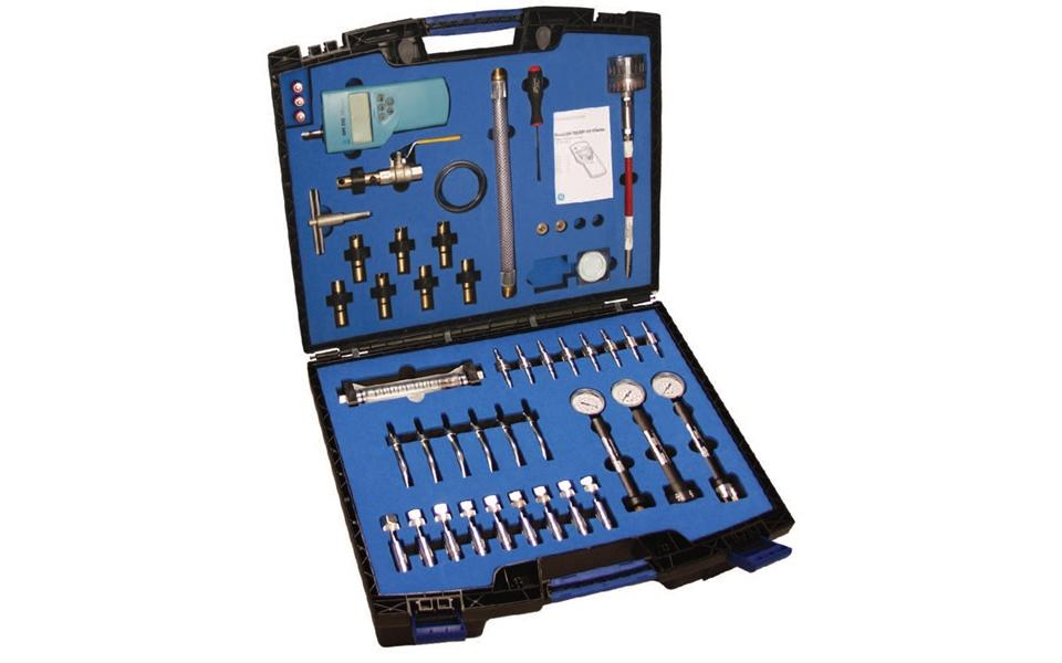 Complete Medical Gas Testing & Commissioning Kit