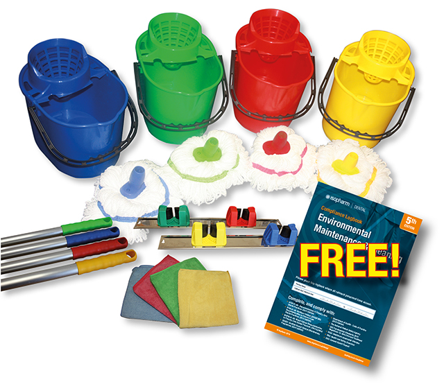 Practice Environmental Cleaning Starter Kit – With FREE Logbook