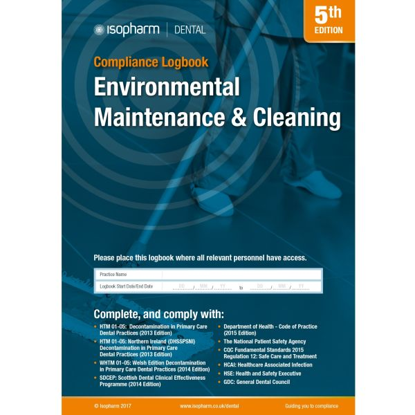 Environmental Maintenance & Cleaning Compliance Logbook