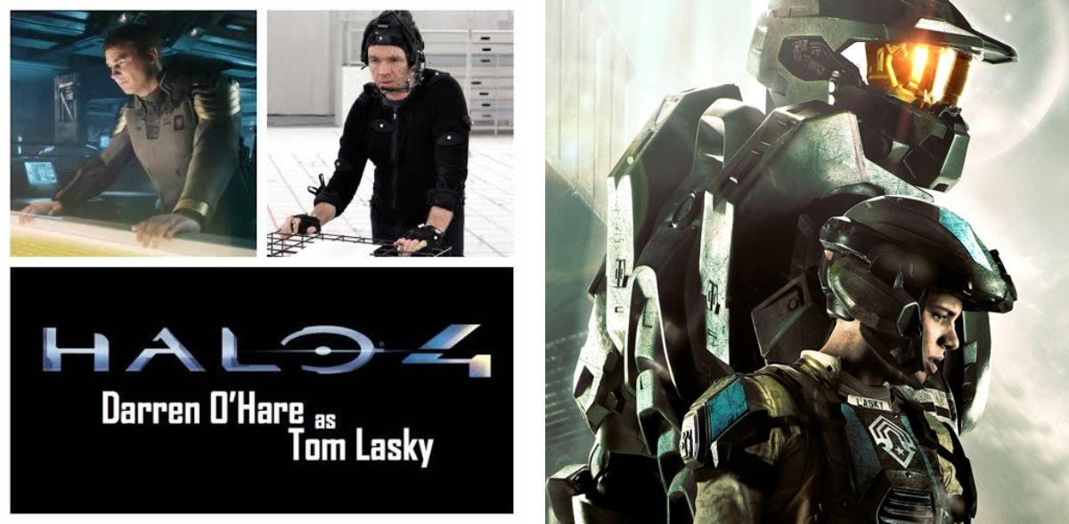 DARREN O'HARE - MOTION CAPTURE VOICE OVER STAR - HALO FRANCHISE