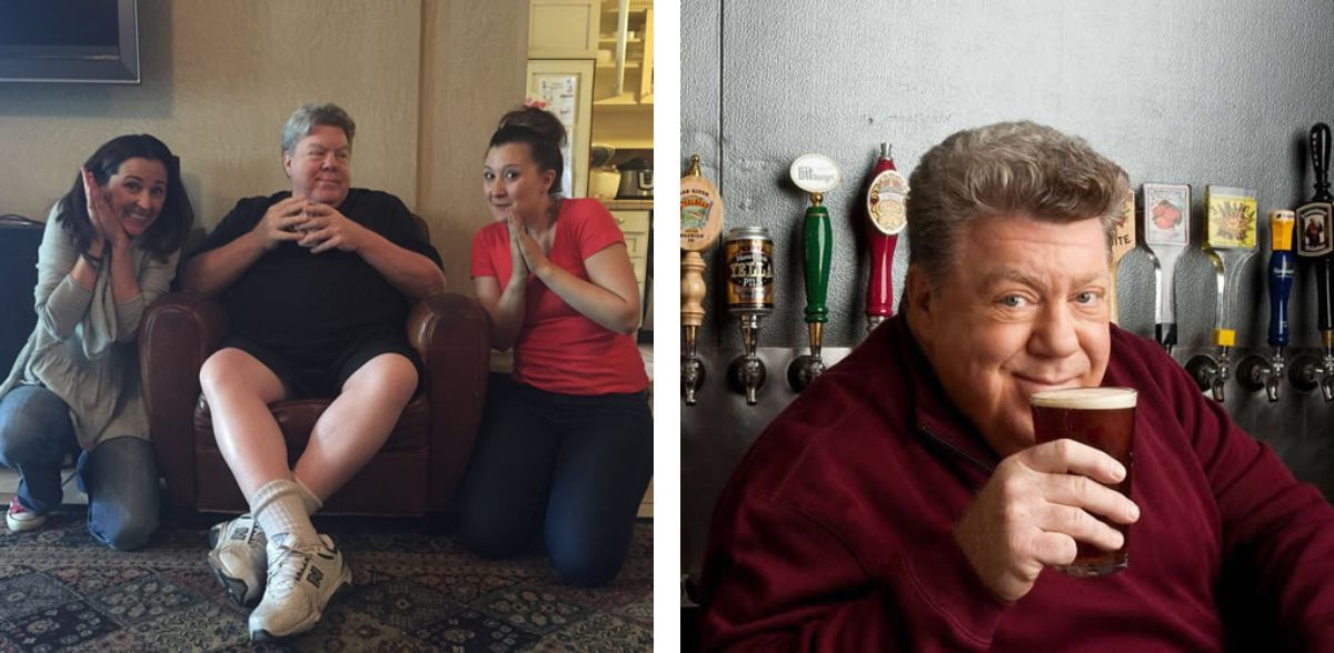 GEORGE WENDT - LEGENDARY ACTOR - CHEERS