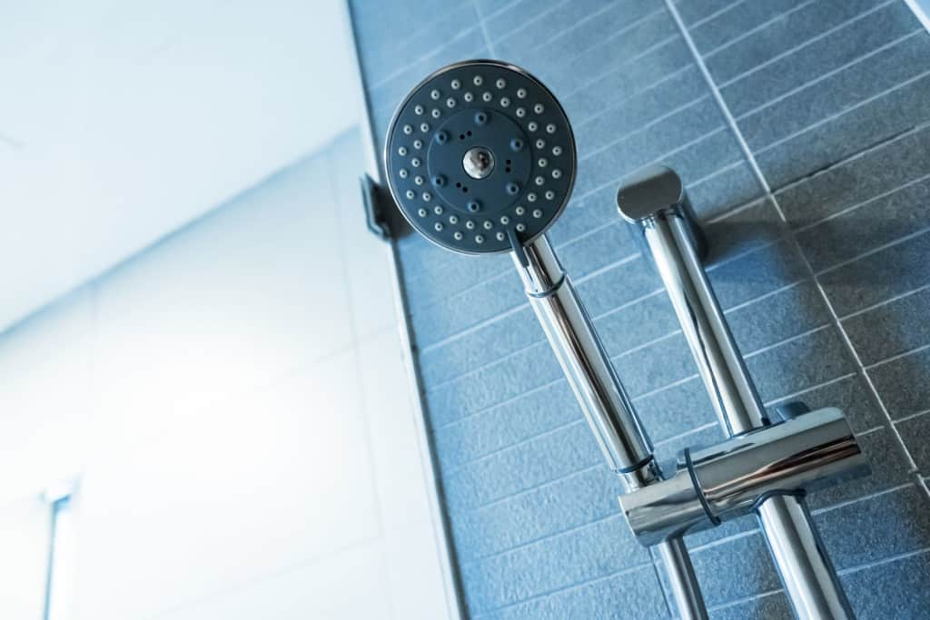 leaking shower head