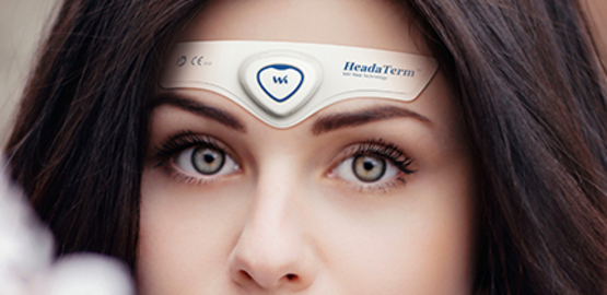 HeadaTerm מכשיר לשיכוך כאבי ראש ומיגרנה