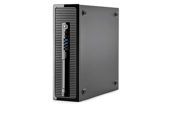 מחשב נייח מחודש HP SFF PRODESK 400 G1 לגרפיקה ומשחקים כולל כרטיס מסך Gigabyte Nvidia Geforce GT 710 2GB מעבד I3, זיכרון 8GB, דיסק 1TB