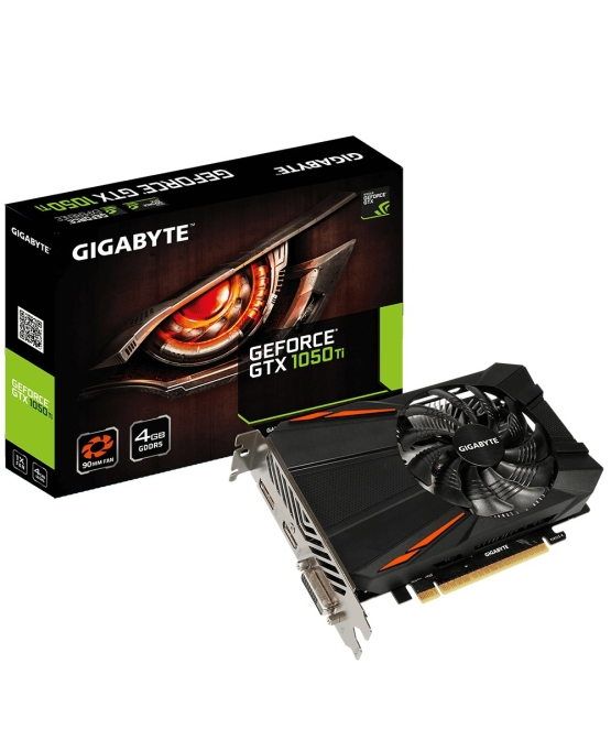 מחשב נייח מחודש HP SFF PRODESK 400 G1 לגרפיקה ומשחקים כולל כרטיס מסך Gigabyte Nvidia Geforce GT 1050Ti 4GB מעבד I3, זיכרון 8GB, דיסק 240GB SSD