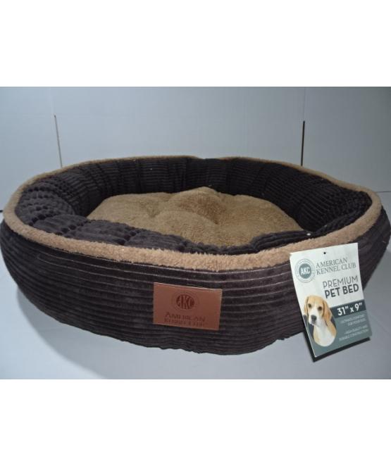 מבריק מיטה לכלב גדול/בינוני דגם קורדרוי - AKC   מיטה לכלב - מחמד-לי HJ-59