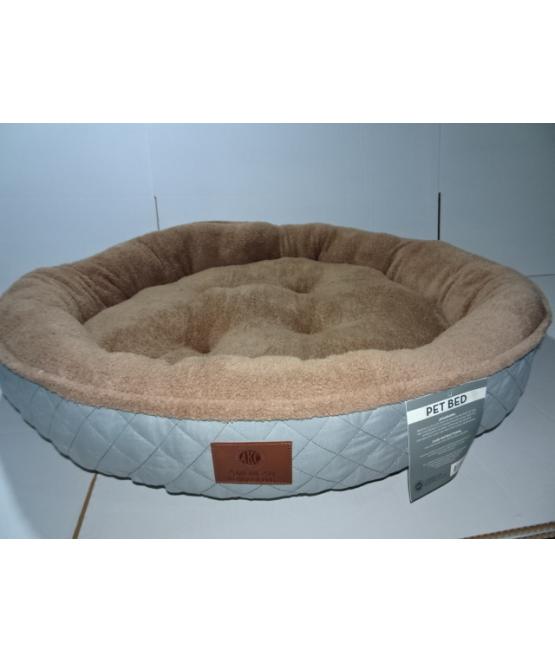 מרענן מיטה לכלב גדול קוטר מטר AKC   מיטה לכלב - מחמד-לי MO-33