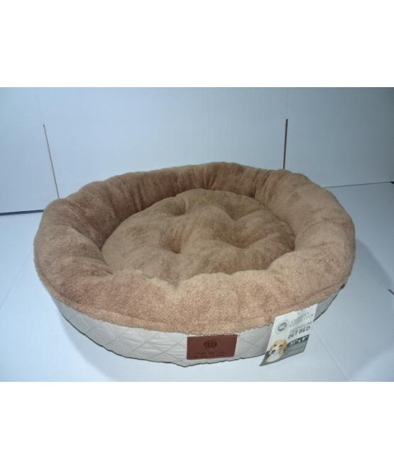 מעולה מיטה לכלב גדול קוטר מטר AKC   מיטה לכלב - מחמד-לי JN-48