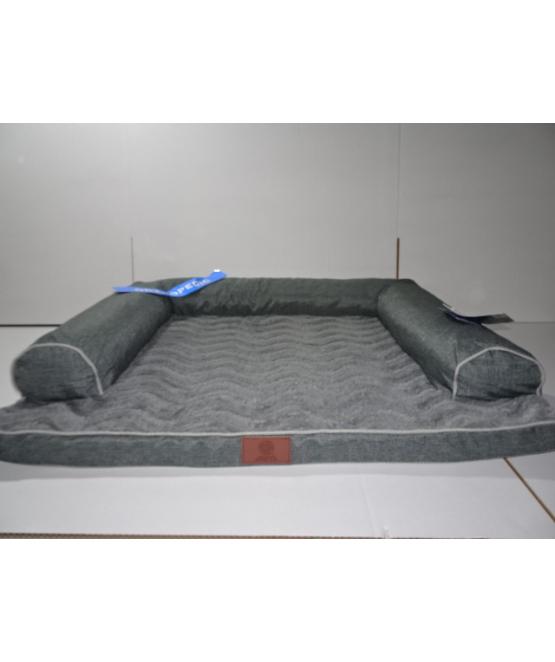 מותג חדש ספה לכלב אורטופדית גדולה 100X75 AKC   מיטה לכלב - מחמד-לי SM-06