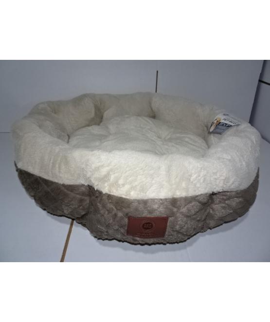 מצטיין מיטה לכלב גדול/בינוני 8 צלעות דגם מעוינים   מיטה לכלב - מחמד-לי GE-29
