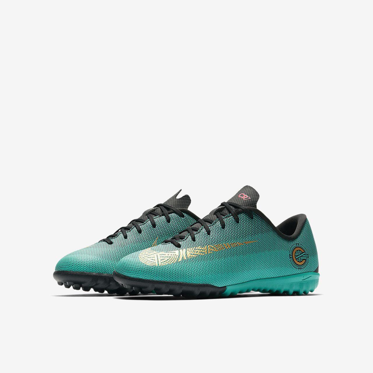 10920ff9d12f ShoesBox - נעלי כטרגל לנוער NIKE JR VAPORX 12 ACADEMY GS CR7 TF ...