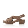 - Rieker Damen Sandaletten sandbeige