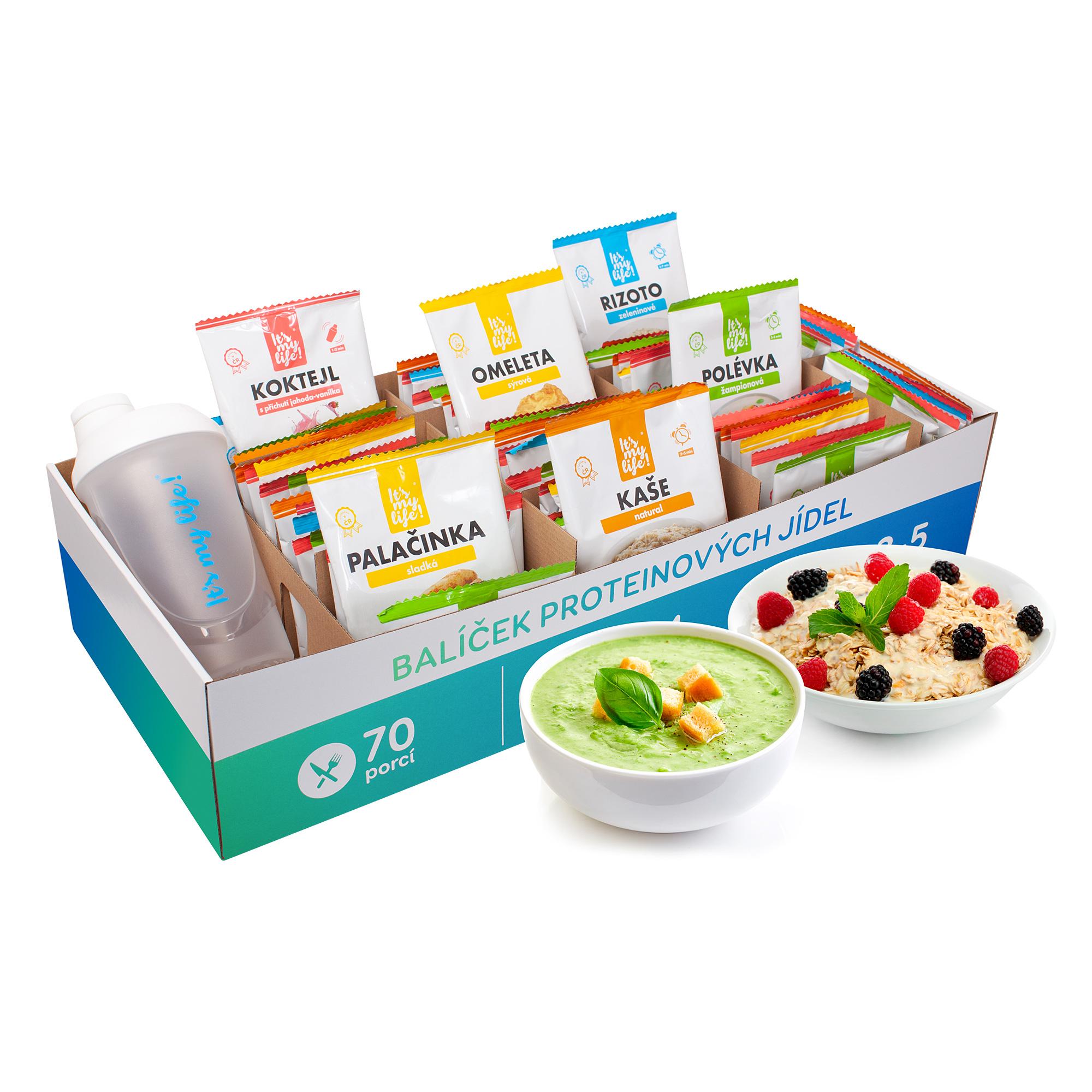 It's my life! Proteinová dieta na 2 týdny 2900g (70 porcí)