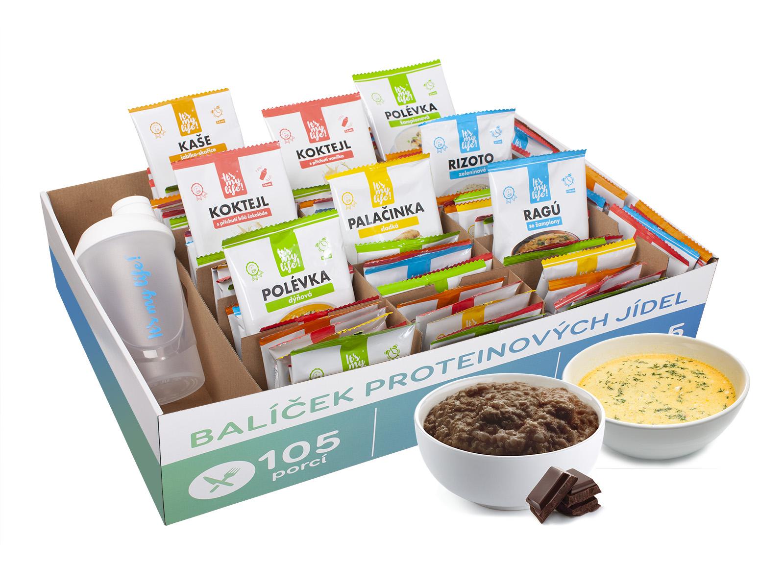 It's my life! Proteinová dieta na 3 týdny 4350g (105 porcí)