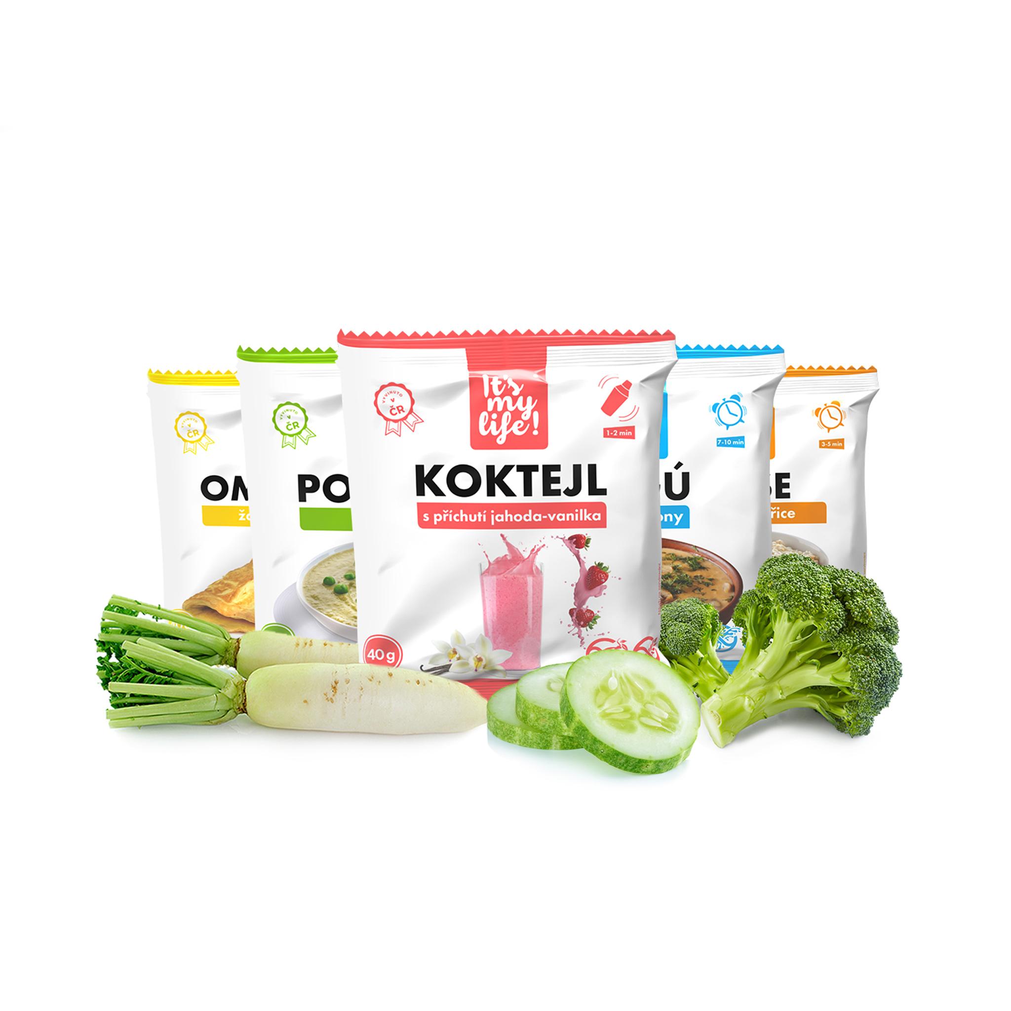 It's my life! Keto dieta XXL - 2. krok, 5960 g (140 porcí)