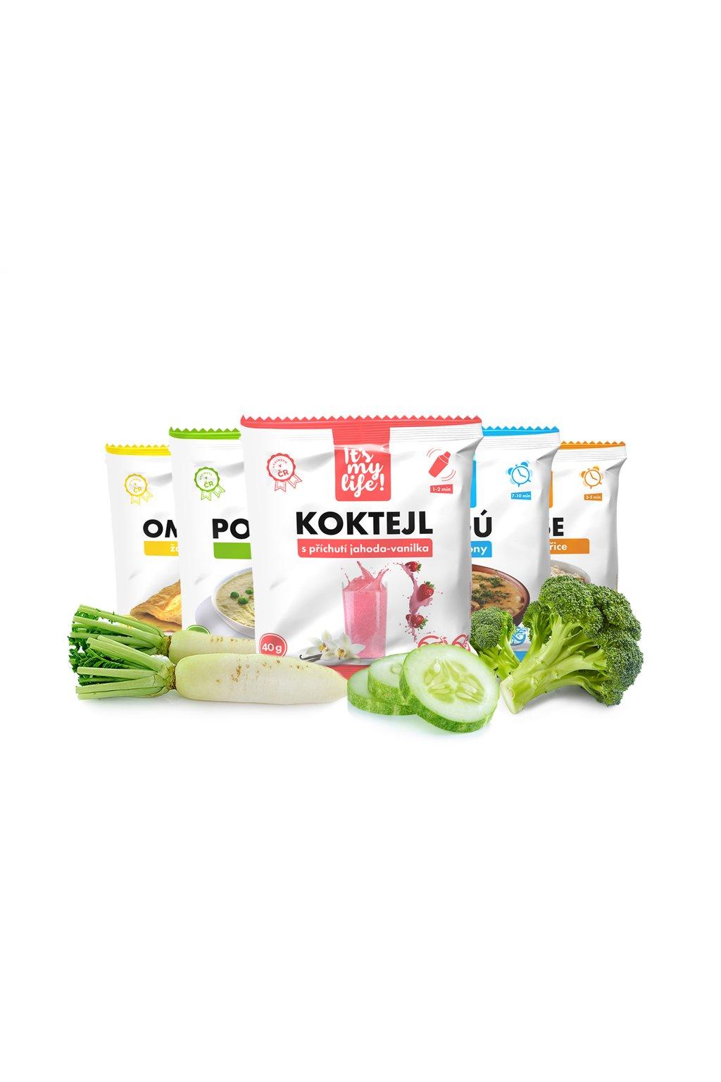 Keto dieta XXL - 2. krok, 5960g (140 porcií)