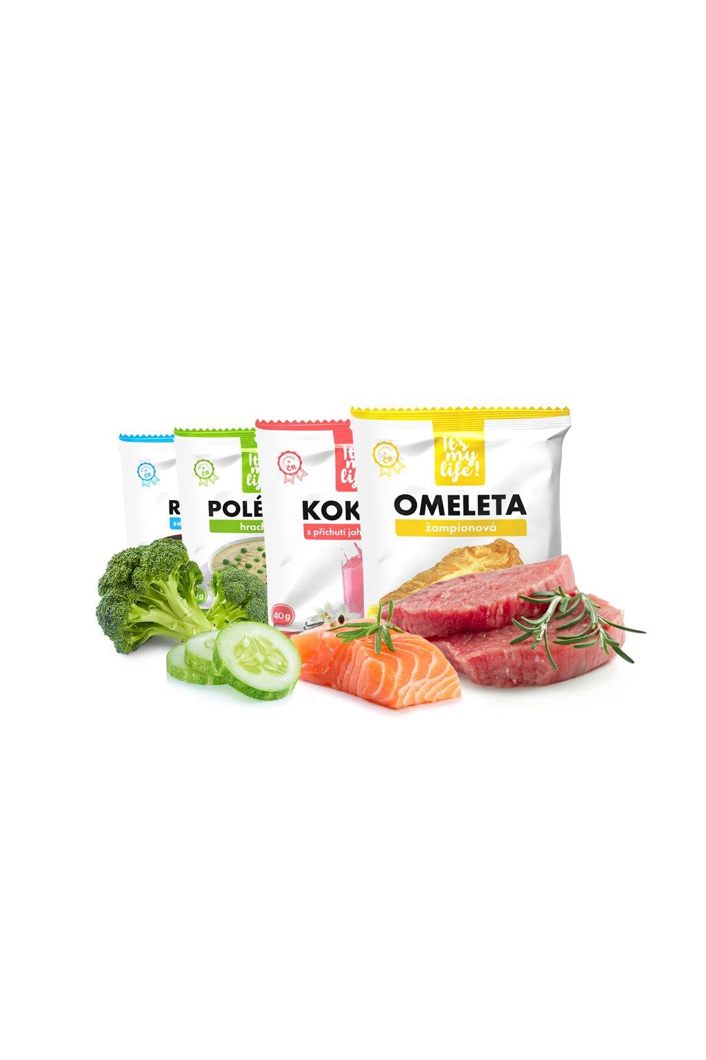 Keto dieta XXL - 3. krok, 5900 g (140 porcií)