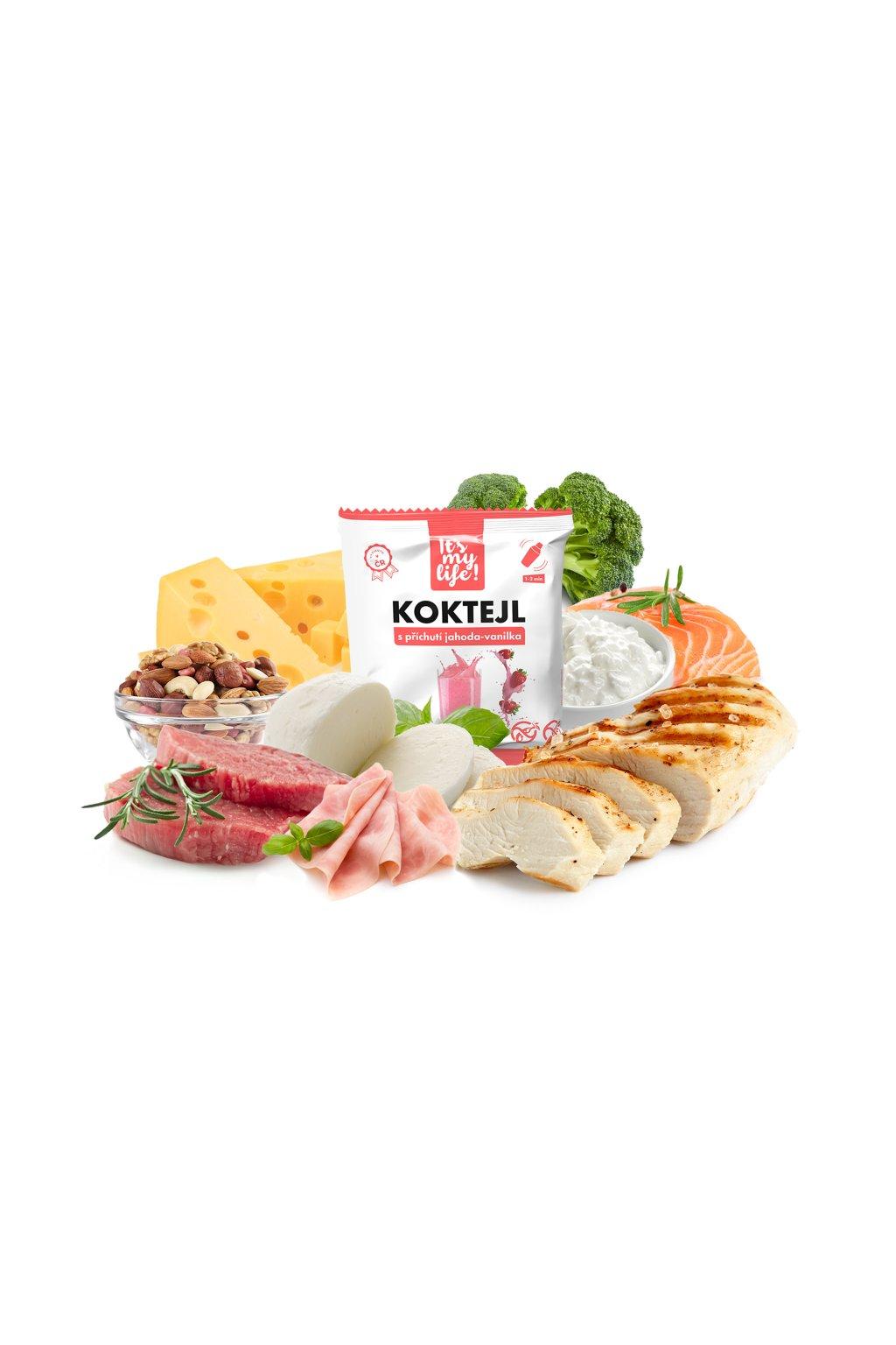 Keto dieta XXL - 5. krok, 620 g (14 porcií)