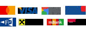 Loga platebních systémů
