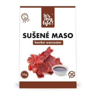 It's my life! Sušené maso hovězí worcester 25g (1 porce)