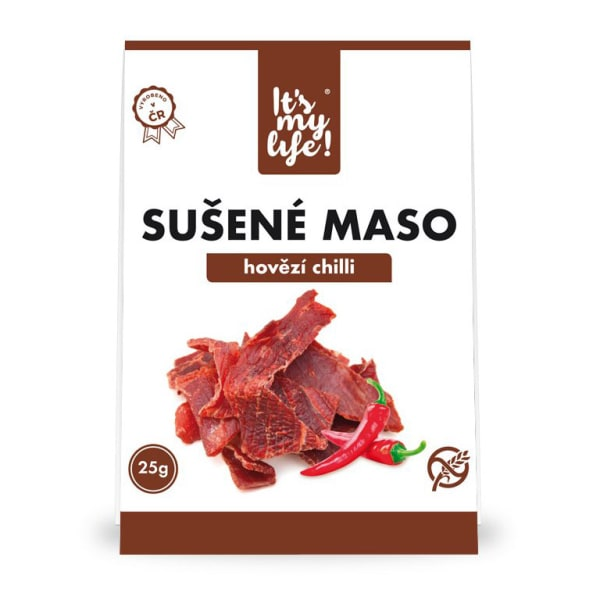It's my life! Sušené maso hovězí chilli 25g (1 porce)