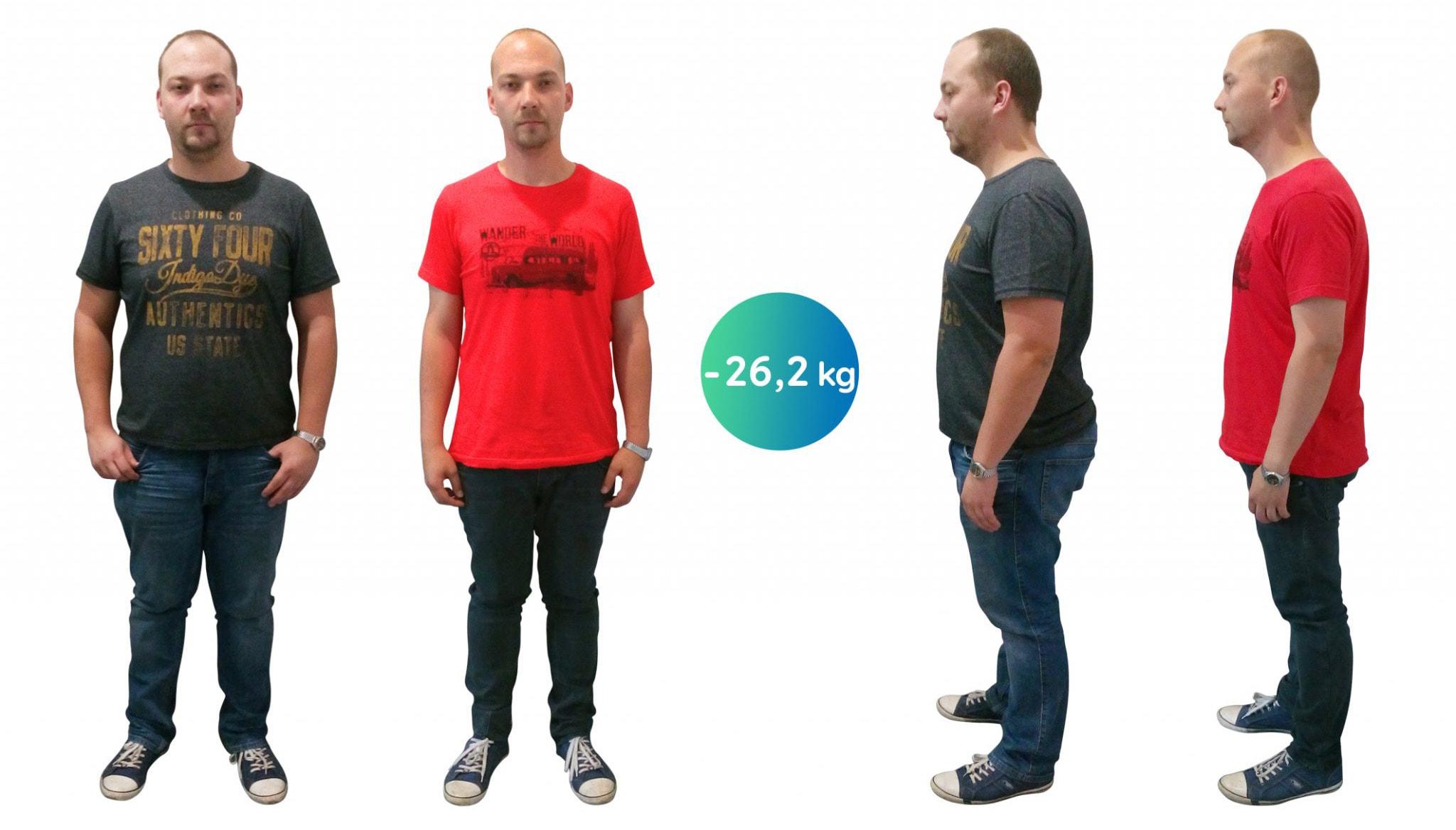 Aj napriek ťažkým začiatkom Ondřej schudol viac ako 26 kg