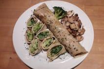 Houbová omeleta
