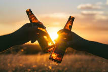 Alkohol během diety