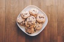 Cookies z kešu másla