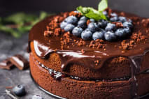 Čokoládová ketotorta