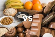 Sacharidy vs. cukry