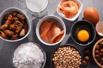 Potraviny, které mohou vyvolat alergickou reakci