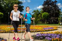 Nordic walking – ideální pohyb pro bojovníky s nadváhou