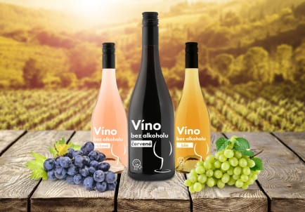 Nealkoholická vína It's my life - červené, bílé a růžové