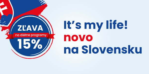 It's my life! novo na Slovensku