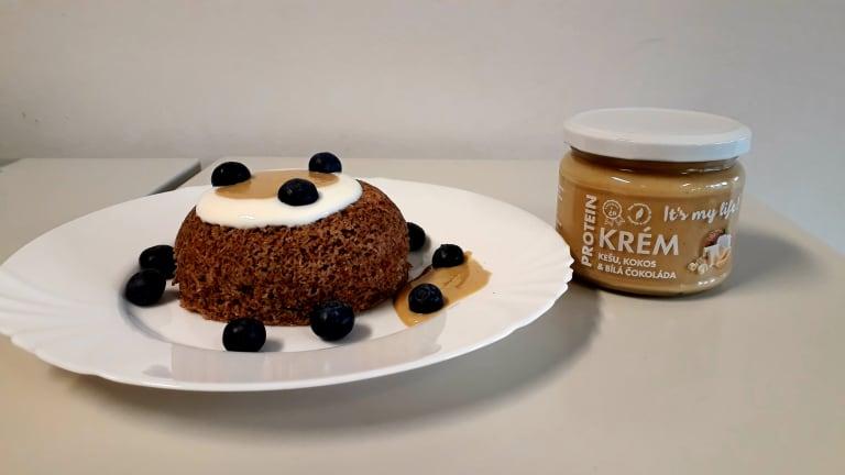 Mug cake s kešu krémem It's my life!
