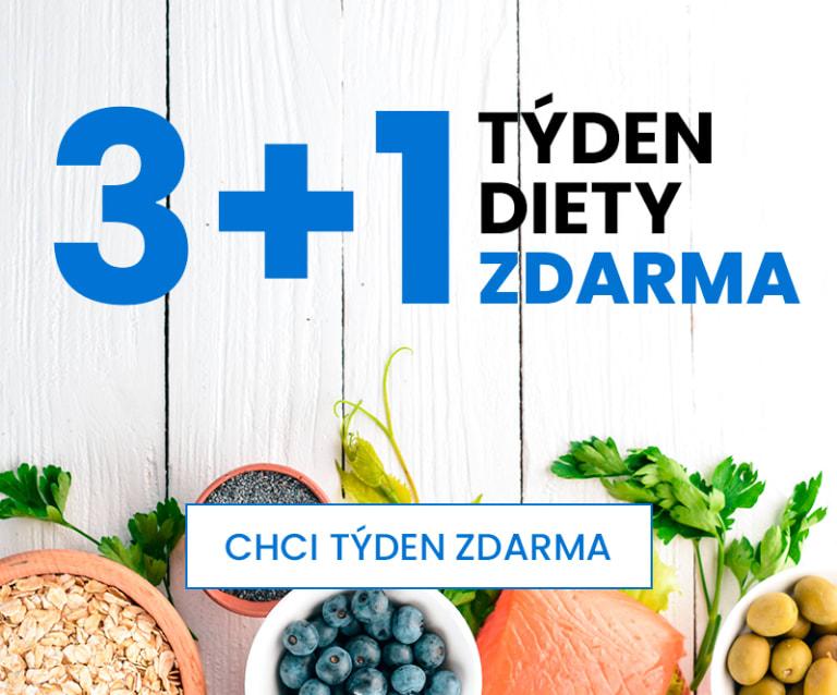 3+1 týden diety zdarma