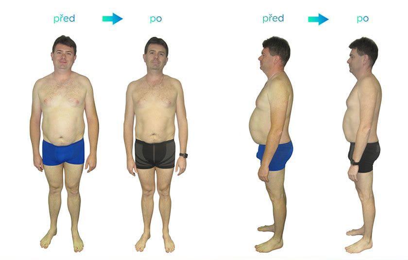 Jiří zhubnul 14 kg