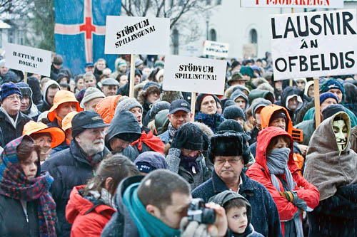 Revolución en Islandia