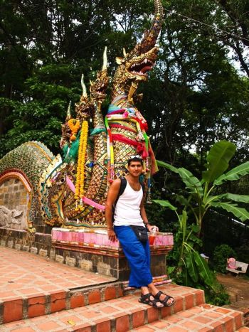 Dragon de Wat Phra That Doi Suthep