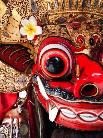 Máscara de la danza del Barong