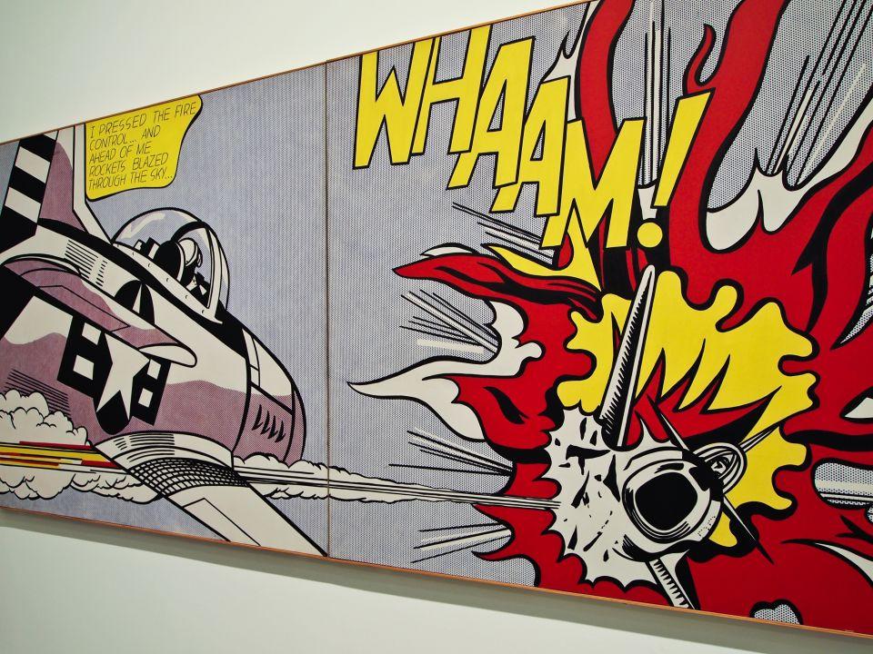 Roy Lichtenstein :: WHAAM!