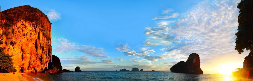 Pano de la playa sur de Krabi