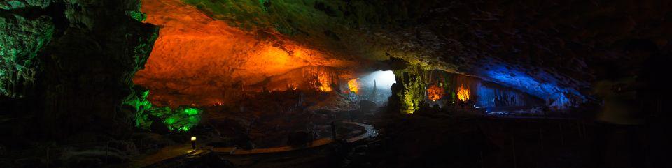 Pano de la cueva de Sung Sot